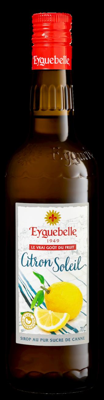 Distillerie Eyguebelle - Sirop de Citron Soleil artisanal de Provence