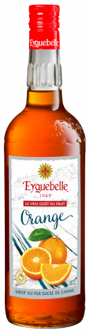 Sirop Orange Eyguebelle
