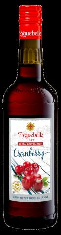 Sirop Artisan Cranberry Eyguebelle