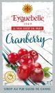 Distillerie Eyguebelle - Sirop de Cranberry artisanal de Provence