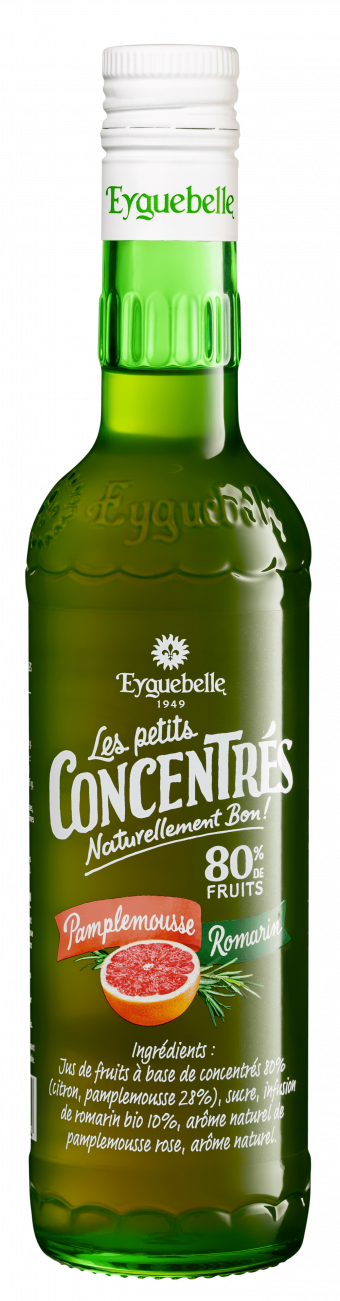 Pamplemousse Romarin - Les Petits Concentrés Eyguebelle