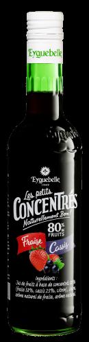 Fraise Cassis - Les Petits Concentrés Eyguebelle