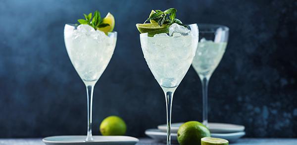 Cocktail Génépi Menthe Glaciale