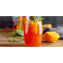 Mocktail Framboise orange