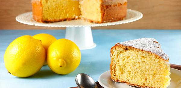 Gâteau aux Sirops de Pêche et Citron