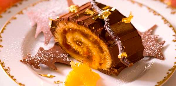 Bûche Chocolat Mandarine