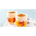 Sabayon de fruits exotiques à la liqueur de Mandarine