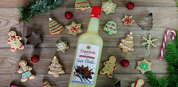 Les petits biscuits au sirop d'anis étoilé Eyguebelle