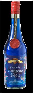 Distillerie Eyguebelle - Liqueur de Curaçao Bleu artisanale - Digestif fruité de Provence