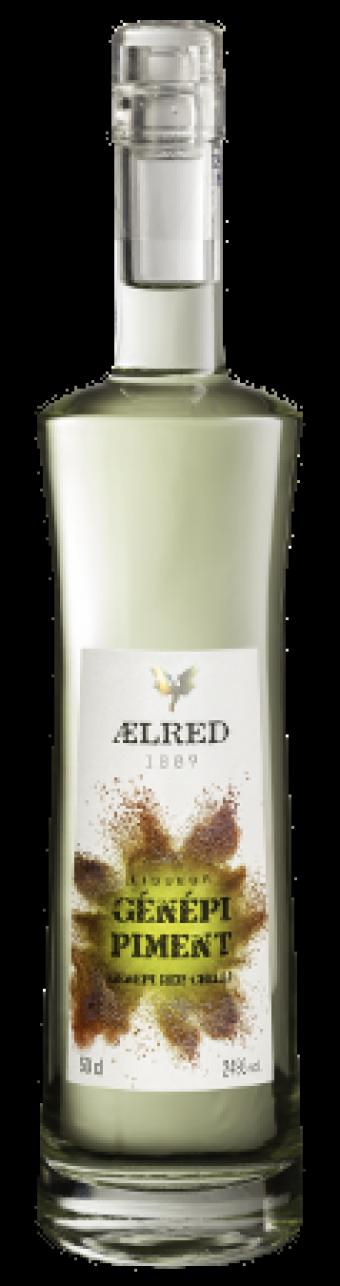 Distillerie Eyguebelle - Liqueur AElred Génépi piment - Digestif fruité de Provence