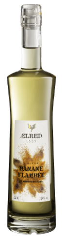 Distillerie Eyguebelle - Liqueur AElred de Banane flambée - Digestif fruité de Provence